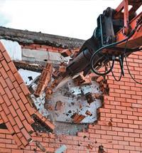 Демонтаж кирпичных зданий в Москве и области