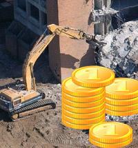 Стоимость сноса зданий